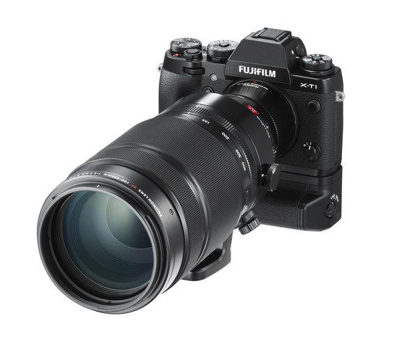 Sestava s objektivem XF100-400mm