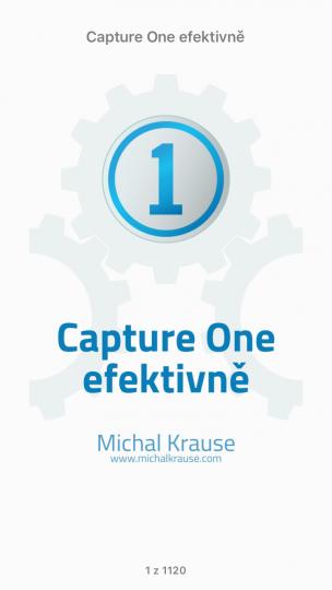 Capture One efektivně – Titulní strana