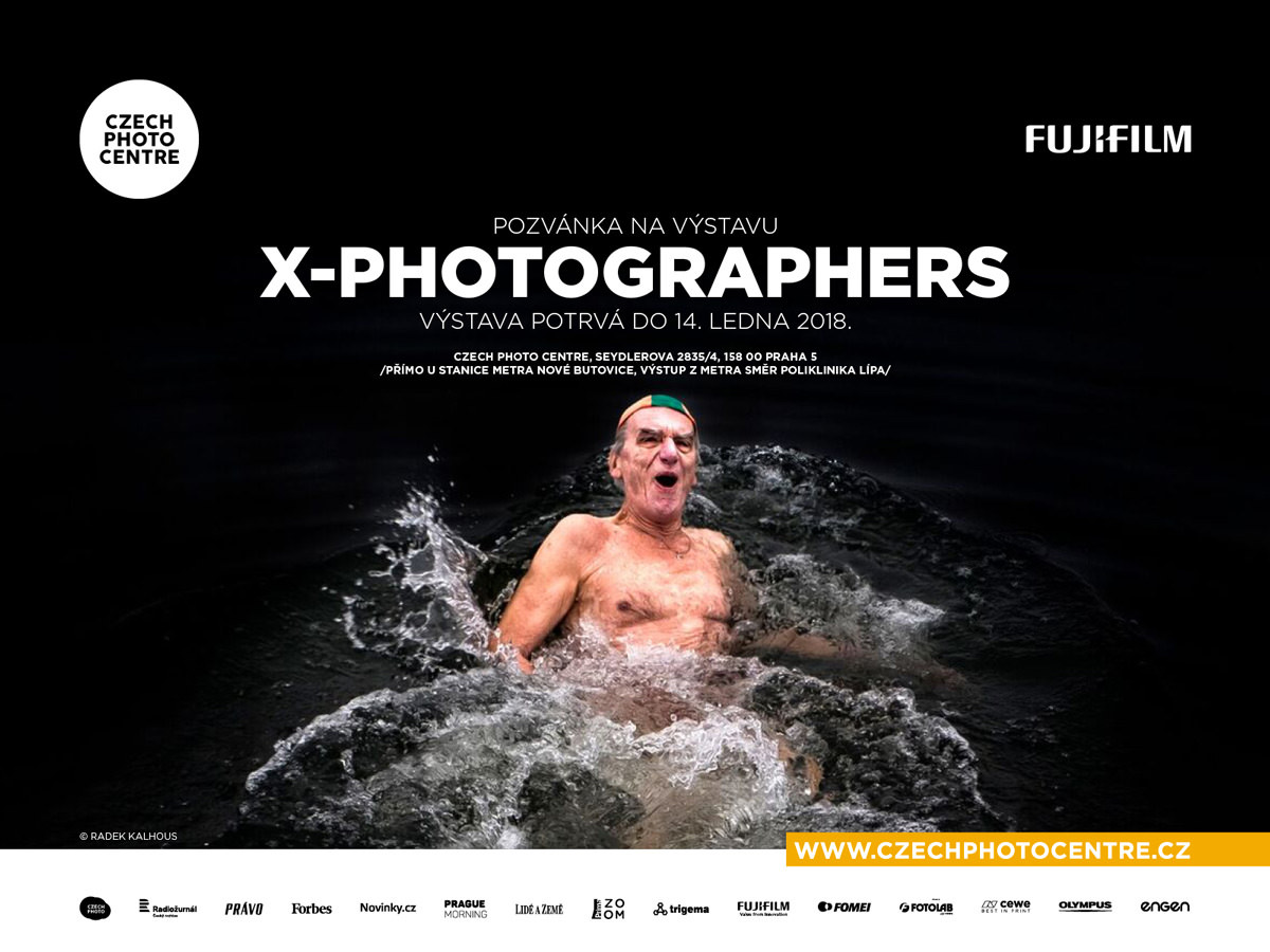 Plakát výstavy X-PHOTOGRAPHERS