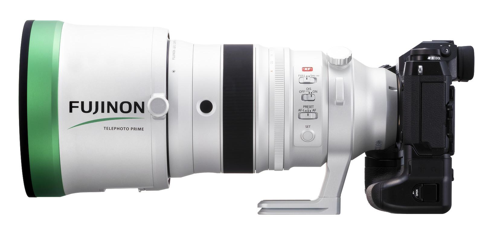 Fujinon XF200mmF2 R LM OIS WR v celé své kráse