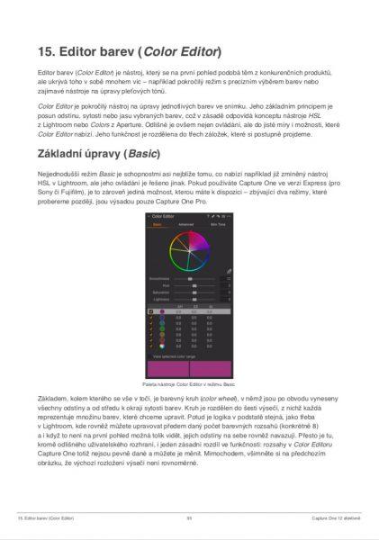PDF ukázka – editor barev 1