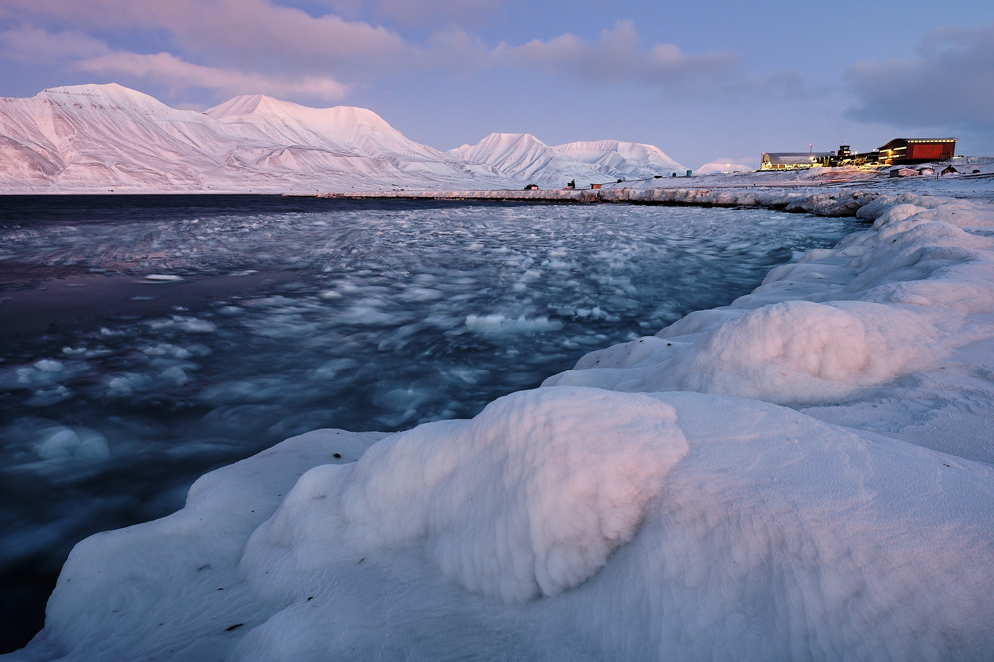 Letiště v Longyearbyenu (Fujifilm X-T2 + XF16mmF1.4 R WR, f/5.6, 1.7s, ISO200)